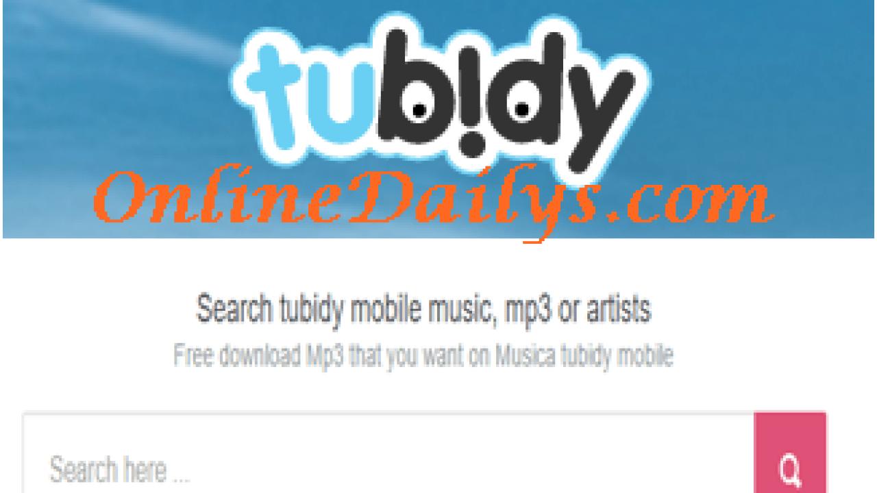 Download Tubidy Free MP3 Songs - Tubidy Music Videos