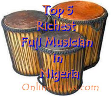 Top 5 Richest Fuji Musician