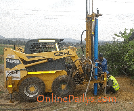Cost of Drilling Borehole in Nigeria | Manual drilling