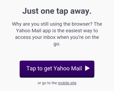 Yahoo Mail Sign Up Using Mobile Phone