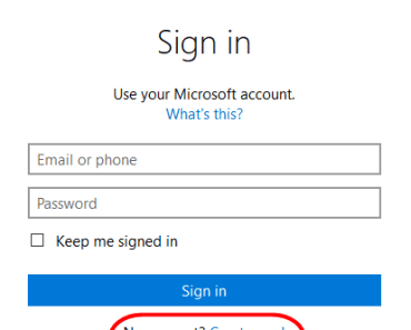 MSN Hotmail.com Signup