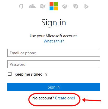 MSN Hotmail.com Signup