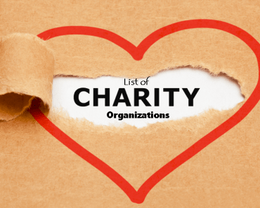 List of Charity Organizations