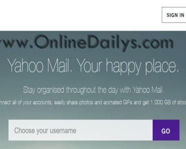 www.YahooMail.com - Yahoo Mail Create Account