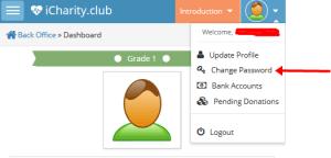 iCharity Club Nigeria Account Password