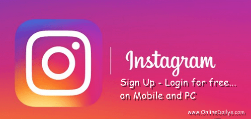 Instagram Account Registration