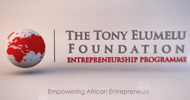 Selected Entrepreneurs For Tony Elumelu Foundation 2017 Entrepreneurship Programme
