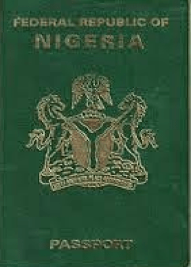 sample of a Nigeria International Passport