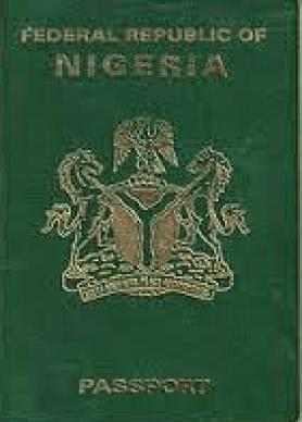 sample of a Nigeria International Passport