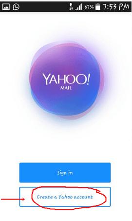 Logo: Create A Yahoo Account
