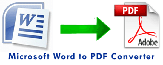 Convert Ms Word Document To PDF