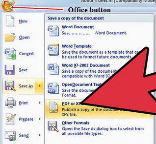 How To Convert Ms Word Document To PDF 1