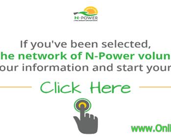 Logo: NPower Nigeria Login Portal