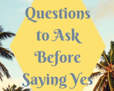 "Top Questions To Ask Before You Say ""Yes I Do"""