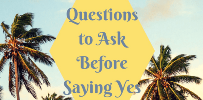 """Top Questions To Ask Before You Say """"Yes I Do"""""""