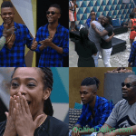 Don Jazzy with DNA Twins visits Big Brother Naija Housemates Today