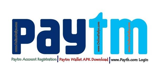 Logo: Paytm Account Registration