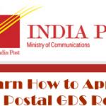 Karnataka Postal GDS Recruitment 2017 – Apply Online @ appost.in/gdsonline
