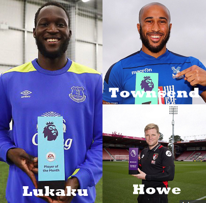 Premier League March Award Winners