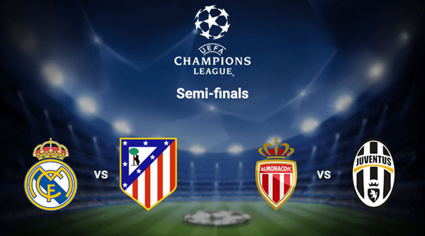UEFA Champions League Semi-Final Draw