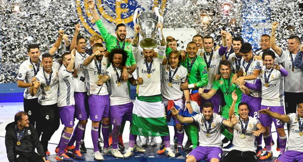 Real Madrid Champions League Finals Records