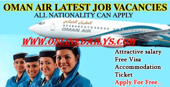 Apply For Oman Air Airways Job Vacancies