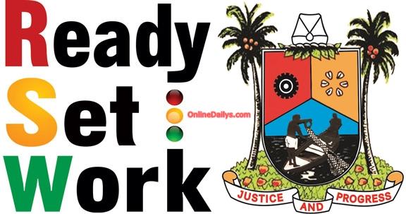 Lagos Ready Set Work logo