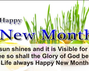 Most Inspirational Happy New Month Messages, Texts & Prayers