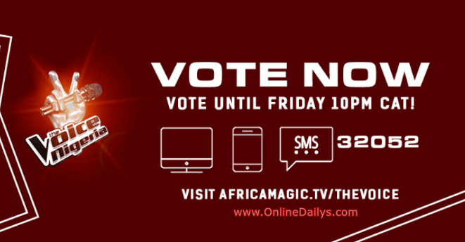 LOGO:  How to Vote For A Contestant in The Voice Nigeria page