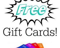 Get Free Gift Card