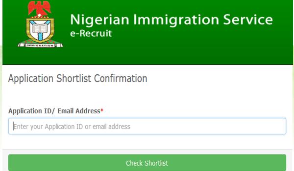 NIS shortlisted portal