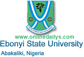 Requirements For Collection Of EBSU Statement Of Result