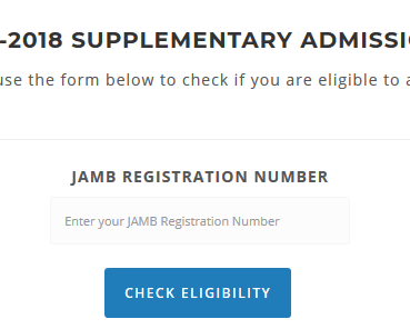 FUNAI supplementary eligibility page