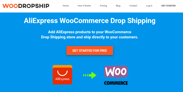 WooDropship page