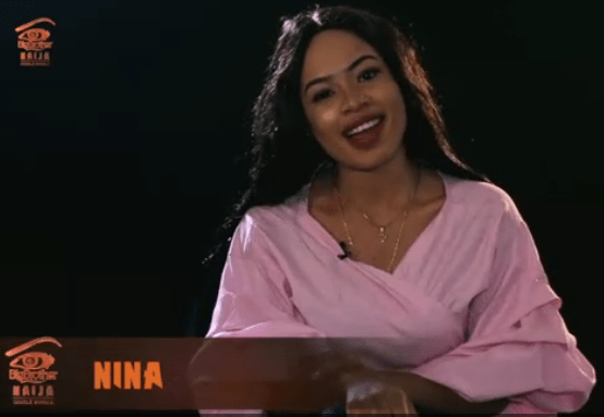 Nina - Big Brother Nigeria Housemate