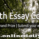 World Youth Essay Competition 2018 Application – Win $1,700 And A Trip To Germany
