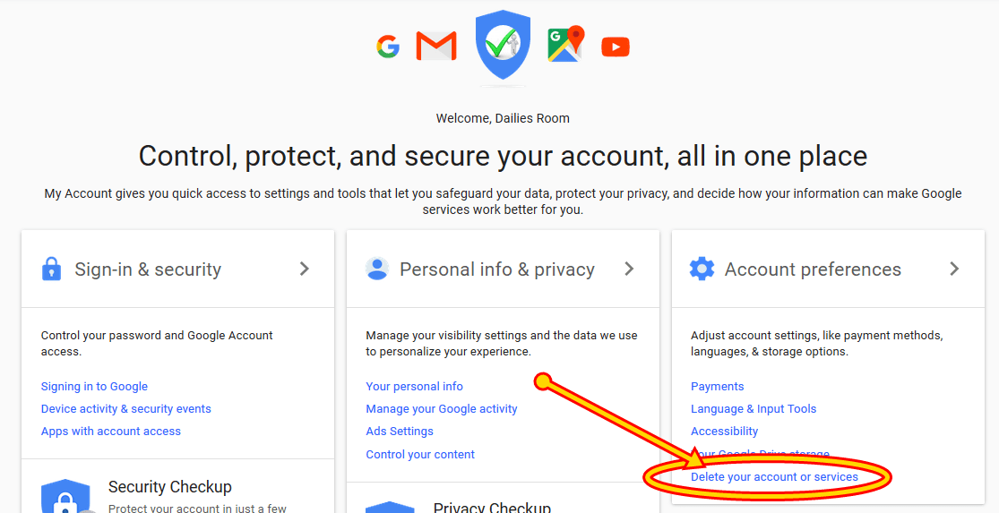 How to Delete My Gmail Account Now - Delete Your Gmail Account