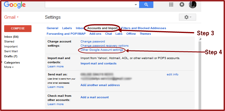 Gmail Edit Account 2