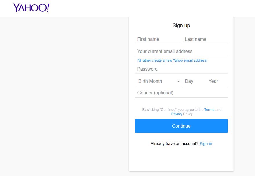 Flickr Account Sign Up Registration Form | Flickr com Photo