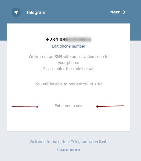 Telegram Web Login 3
