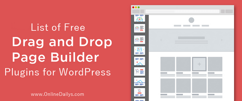 Drag and Drop Page Builder Plugins for WordPress