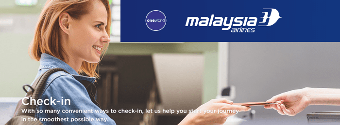 Banner: Malaysia Airlines Check In