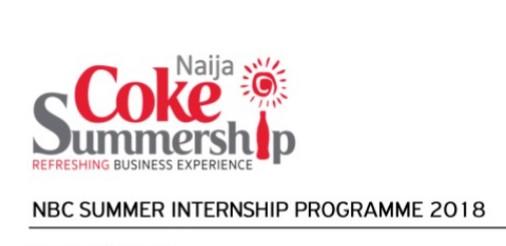Coca-Cola Naija Coke Summership Programme Application