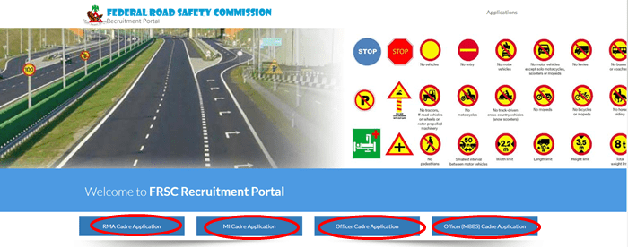 FRSC Recruitment Form