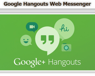 Hangouts web Messenger