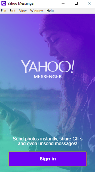 Yahoo Messenger download 2