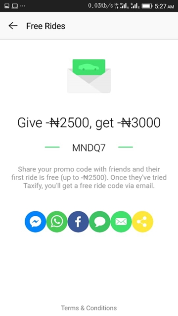 Taxify Promo Code Not First Ride