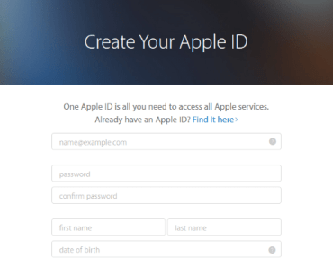 Create Apple ID Without Credit Card
