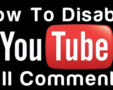 How To Disable Comments On YouTube Channel