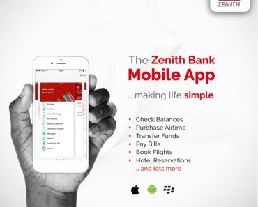 Zenith Bank Mobile Banking Registration Guidelines - Download Zenith Mobile App